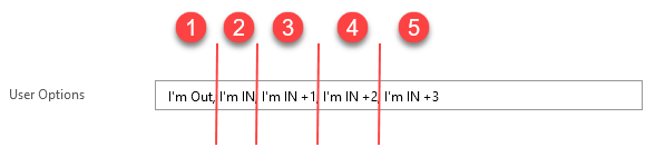 Comma separated values for selection